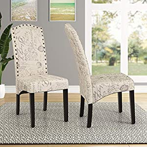 51R0SK%2BbtFL._SS300_ Coastal Dining Accent Chairs & Beach Dining Accent Chairs