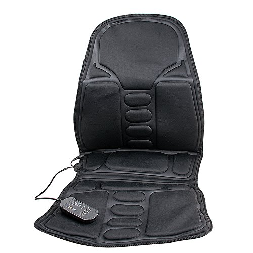 Genmine Seat Cushion Vibrating Massage Pad With Heat Ther...