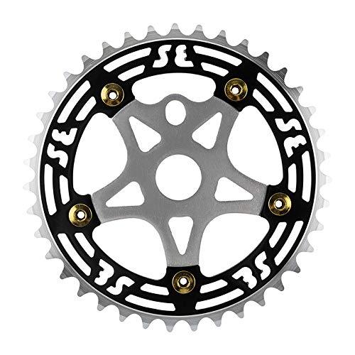 SE Bikes CHAINRING 1pc 39T 1/8 ALY w/SPIDER BK/SL CP