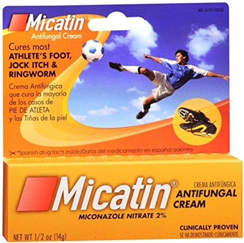 Micatin Antifungal (Micatin Cream 0.50 oz (Pack of)