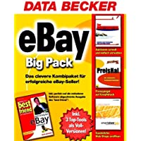 Ebay Big Pack, CD-ROM u. Buch 3en: Der Auktionator, Kaufen und Verkaufen vollautomatisch; PreisHai, Der ultimative Schnäppchenjäger; smartstore biz, Der schnelle und einfache Weg zum erfolgreichen WebStore. Buch: best fri