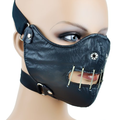 Hannibal Lector Motorcycle Mask Horror Halloween -