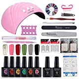 Best Gel Polish Kits - Coscelia Soak Off Gel Nail Polish Set Top Review