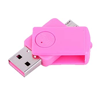Mini Lector de Tarjetas USB OTG Tarjeta Micro USB TF ...