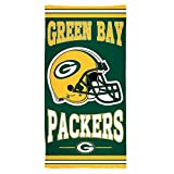 "NFL Green Bay Packers Fiber Beach Towel, 30"" x 60"""