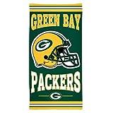 """WinCraft NFL Green Bay Packers Fiber Beach Towel, 30"""" x 60"""""""