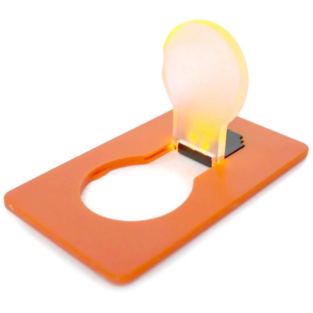 Usuny Portátil Bolsillo LED Tarjeta Luz Plegable Emergencia Noche ...