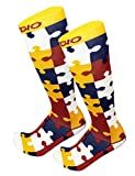 Clare Voyant Jigsaw Puzzle Graduated 20-30 mmHG Compression Recovery Socks (S/M)