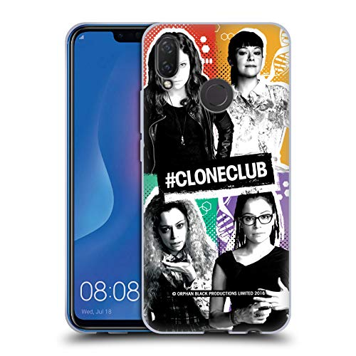 Official Orphan Black Boxes #cloneclub Soft Gel Case for Huawei P Smart...