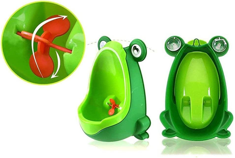 Froggy Urinal Portable Training Froggy Baby Potty pour laide de Perfect Mommys
