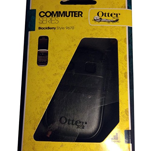 Apple Black Pda Case (OtterBox Commuter Series Case for BlackBerry Style 9670 - Black)