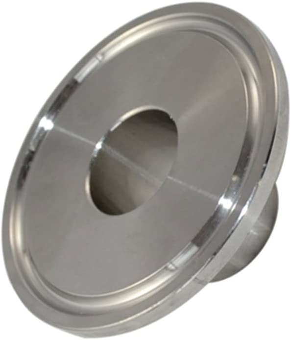 Stainless Steel 316 SS316 Sanitary Fitting Diameter 51MM 2 Weld Pipe with 64MM Ferrule Flange fits 2 Tri Clamp