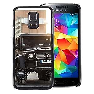 Snap-on Series Teléfono Carcasa Funda Case Caso para Samsung Galaxy S5 Mini, SM-G800 , ( Brutal Brab Merc GL )