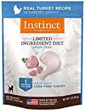#3: Nature's Variety Instinct Limited Ingredient Diet Grain Free Real Turkey Recipe Natural Wet Dog Food Topper by, 3 oz. Pouches (Case of 24)