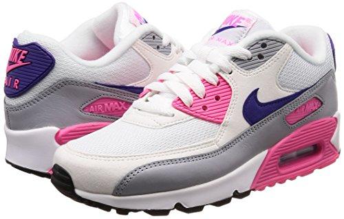 Max Sur Chaussures Cour 90 Loup blanc Violet Multicolore 136 Laser Prem Wmns Sport Rose Pour Air De Nike Femmes Gris XdqFOO