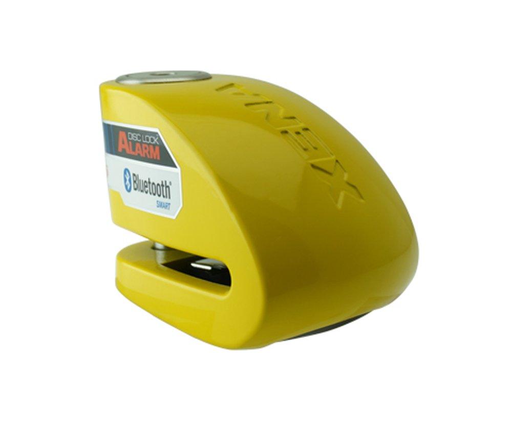 MOTO HEAVEN Xena XX10 Alarm DISC Lock 3.3 X 2.4 (Yellow) 56-9668