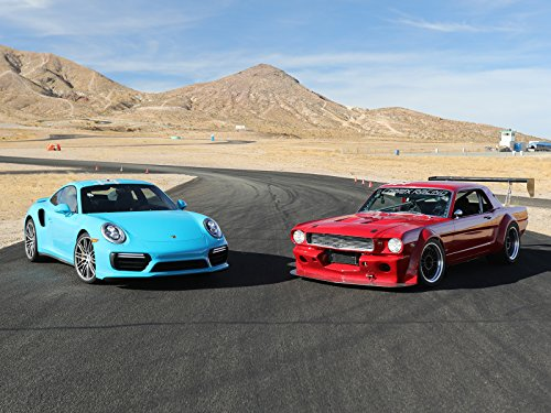1966 Mustang vs. 2017 Porsche Head-to-Head Road Race Battle! (Best Pro Touring Cars)