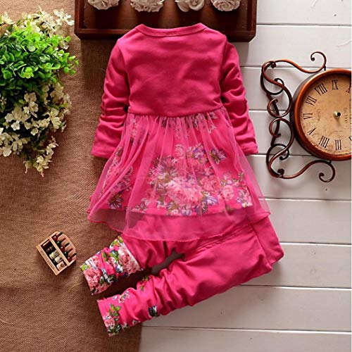 Toddler Baby Girls Fall Winter Clothes Outfit 1 3 Years Old 2pcs