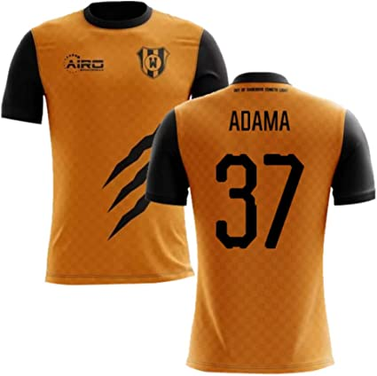 2019-2020 Wolves Home Football Soccer T-Shirt Adama Traore 37