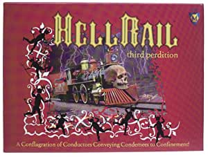 Hell Rail Board Game by Mayfair Games