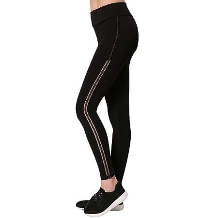 Zhongsufei Medias de Control Pantalones de Running de Yoga ...