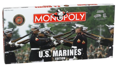 usmc monopoly board game - 1