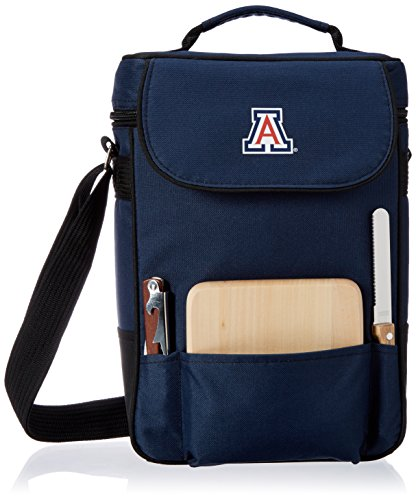 Wildcats Picnic Backpack - PICNIC TIME NCAA Arizona Wildcats Duet Insulated Wine and Cheese Tote with Team Logo