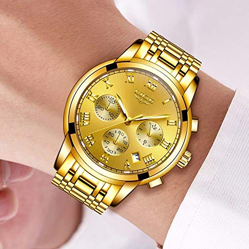 Amazon.com: Relojes de Hombre Male Mens Reloj Hombre Watches Large Dial Fashion Casual Sports Quartz RE0098: Watches