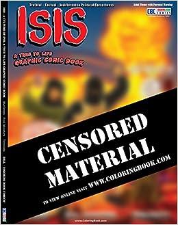 Anti ISIS Coloring Book Comic ColoringBook Wayne Bell 9781619531529 Amazon Books