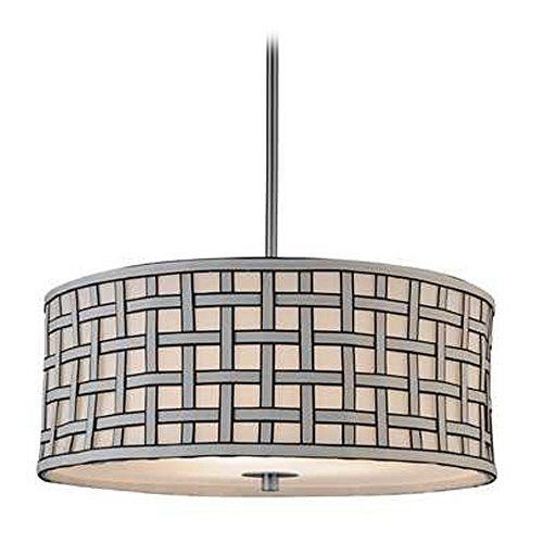 Criss Cross Pendant Light - 9
