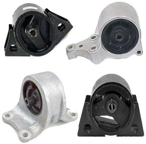 4pcSet fits 2002 03 04 05 06 Nissan Sentra 2.5L Auto Transmission Motor Mounts
