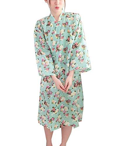 宿題をする無法者関数SGFY レディース パジャマ 浴衣 椿の花 前開き レディース 浴衣 寝巻き 旅館 和ざらし ガーゼ 婦人用 女性 二重袷和 ルームウェア