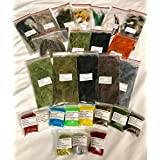 Fly Tying Material Starter Kit