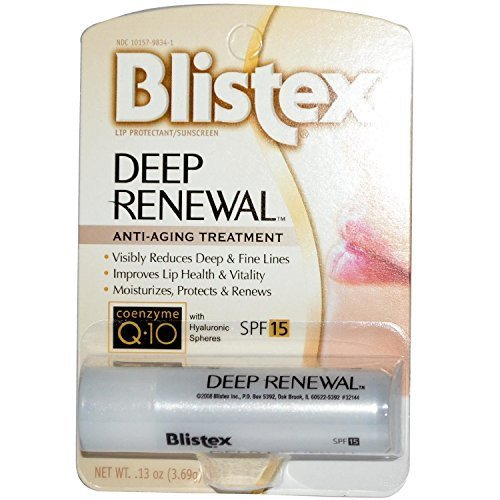 Blistex Deep Renewal, Anti-Aging Treatment (Pack of 2) (Plumping Lip Stain)
