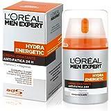 L'Oréal Paris Men Expert Hydra Energetic Crema Idratante Anti-Fatica, con Vitamina C e Oxygen-CP, 50 ml