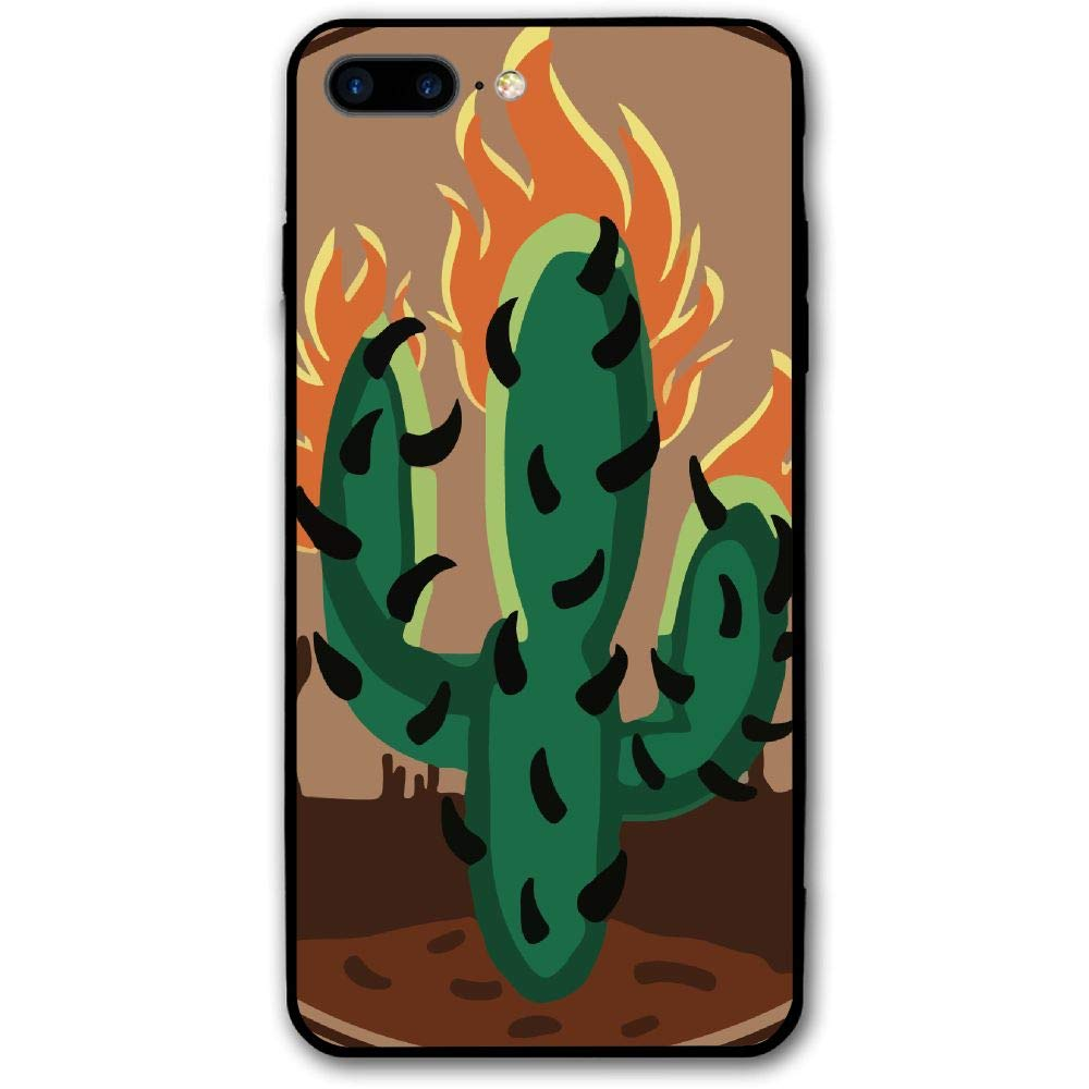 f10c850d901 Amazon.com  Travis Scott Rodeo Cactus Hunting Phone Case Shock-Absorption  Bumper Cover Anti-Scratch Clear Back for iPhone 8 Plus  Cell Phones    Accessories