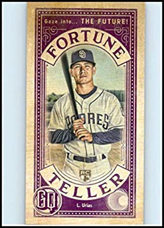 c24e3af4e47 2019 Topps Gypsy Queen Fortune Teller Mini  FTM-LU Luis Urias San Diego  Padres