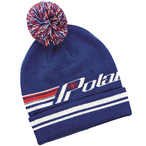 Polaris Retro Cuff Beanie Blue One Size ()