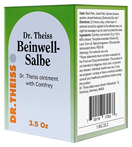 Theiss Beinwell ointment Comfrey vitamine