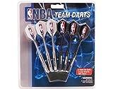 Imperial Set of 6 NBA Washington Wizards Steel Tip Darts & Flights with NBA Logo