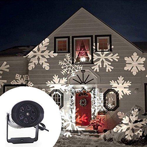 Outdoor Laser Lights White - 8
