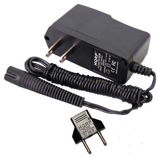 HQRP Netzadapter / Netzkabel / Netzstecker für Braun Series 3 Modell 330s-4, 320s-4 Type 5415, Modell 370, 350cc, 370cc Type 5774, Modell 340 Type 5775 Rasierer