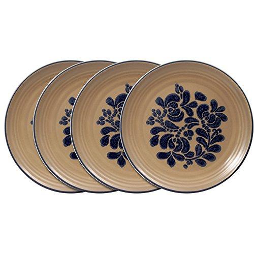 Pfaltzgraff Folk Art Dinner Plate (10-Inch, Set of 4) - Pfaltzgraff Folk Art
