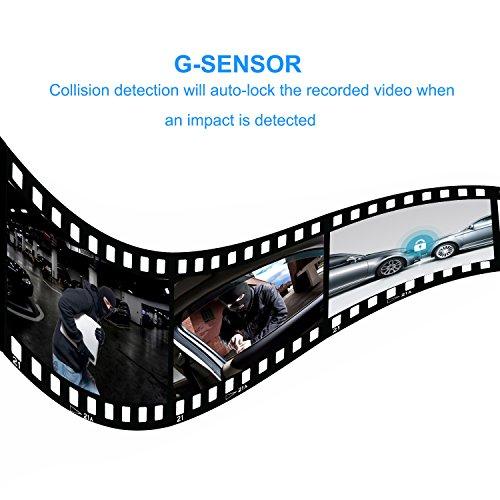 SENDOW Miroir Dual Dash Cam 7 Pouces 1080p IPS Affichage 170 ° Grand Angle De Tableau De Bord Caméra, Véhicule Rétroviseur Miroir Caméra Avec Parking Moniteur Boucle D'enregistrement