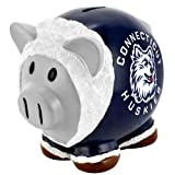 NCAA Connecticut Huskies Resin Large Thematic Piggy Bank