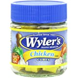 Wyler's Instant Bouillon, Chicken Cubes, 3.25 Ounce