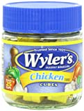 Wyler's Instant Bouillon, Chicken Cubes, 3.25 Ounce (Pack of 8)