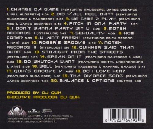 DJ Quik - Balance & Options - Amazon.com Music
