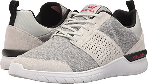 Supra Scissor Skate Shoe Light Grey/Red deals cheap price with paypal cheap online shopping online sale online outlet popular really sale online E9KnVUOe4