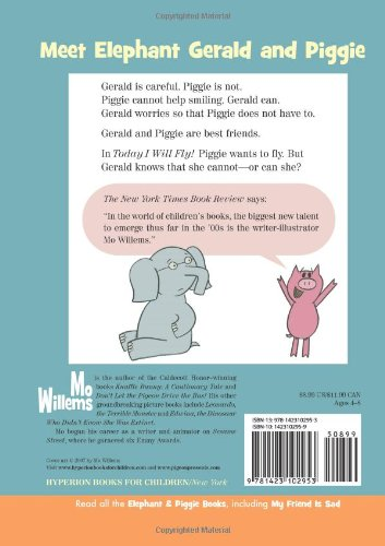Today I Will Fly! (An Elephant and Piggie Book): Mo Willems ...